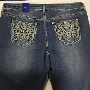 Apt. 9 Jeans - Apt. 9 Embellished Bootcut Jeans NWT